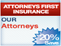 Attorneys First Insurance Ad