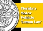 Florida's Motor Vehicle 'Lemon Law'