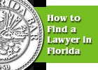 Pamphlet How to Find A florida lawyer