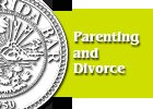 Pamphlet Parenting and divorce