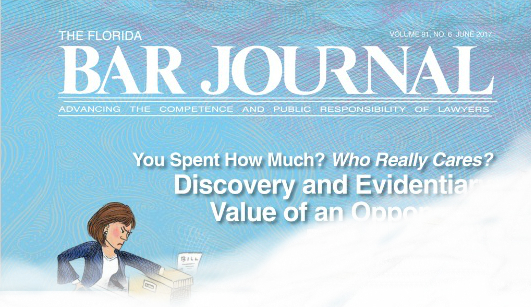 Cover of The Florida Bar Journal.