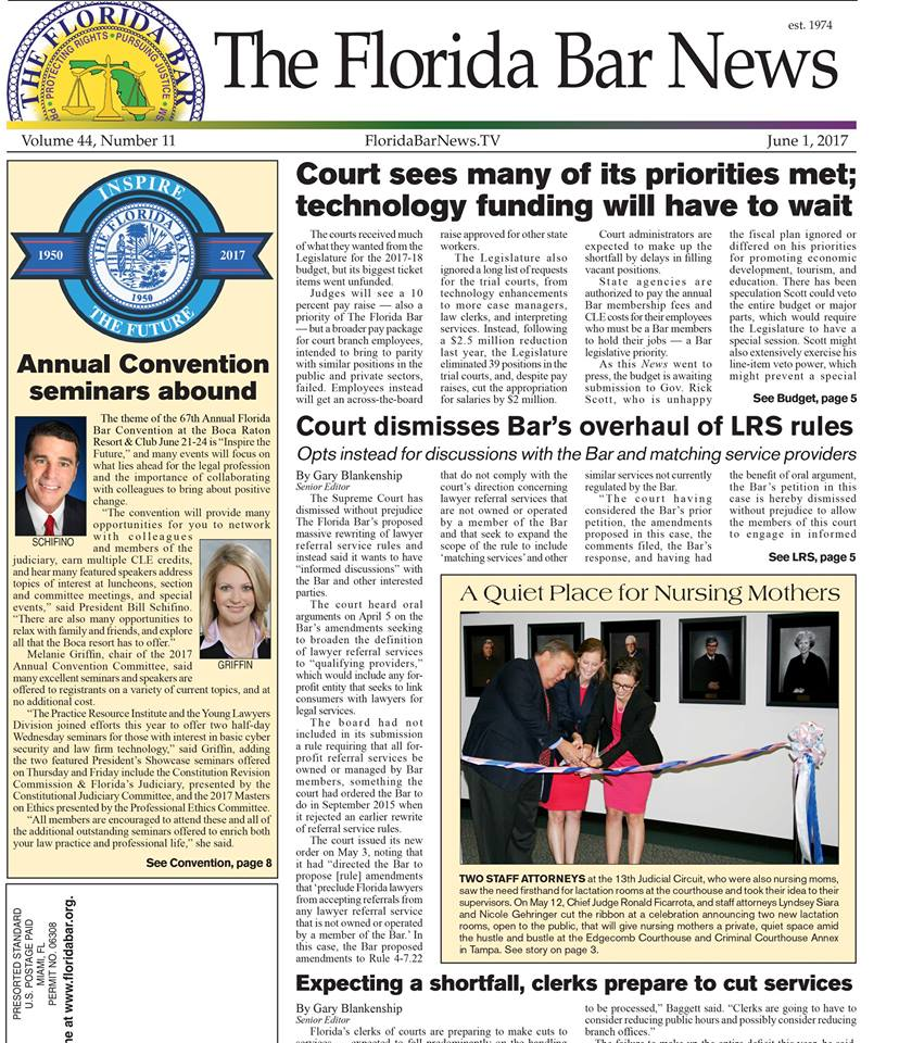 Florida Bar News June 1 2017