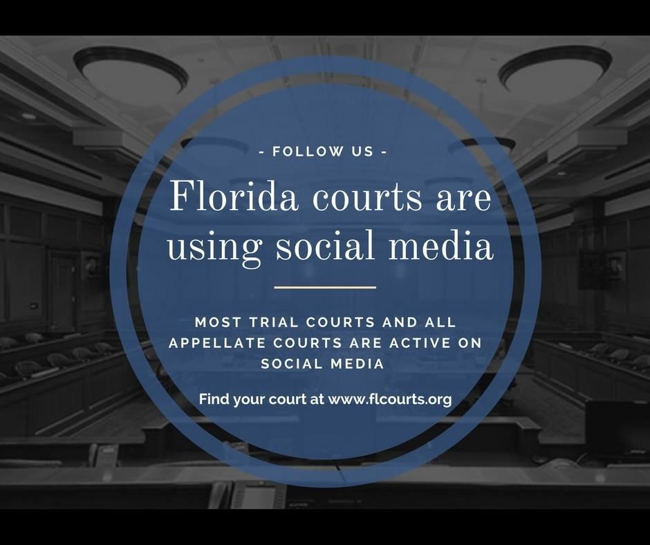 FloridaCourts social media