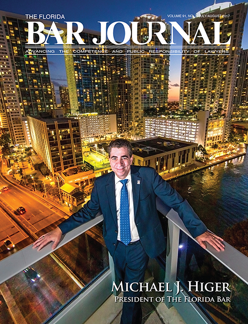 The Florida Bar Journal July/Aug. 2017