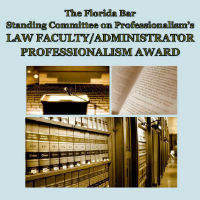 Professionalism Law Faculty Award