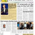 The March 1 Bar News: Top stories include CRC proposals, the court's focus on security and guardianship issues, and scams targeting lawyers