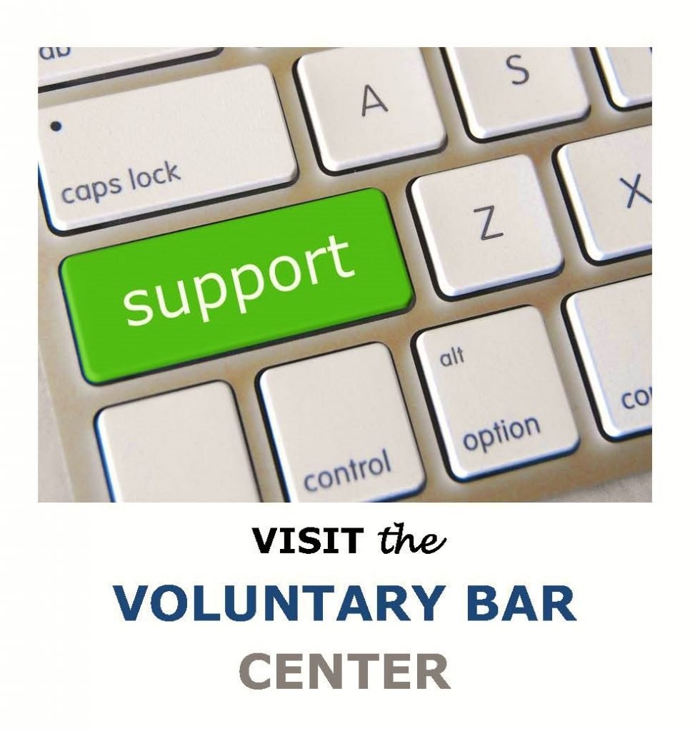 Support from the Voluntary Bar Center