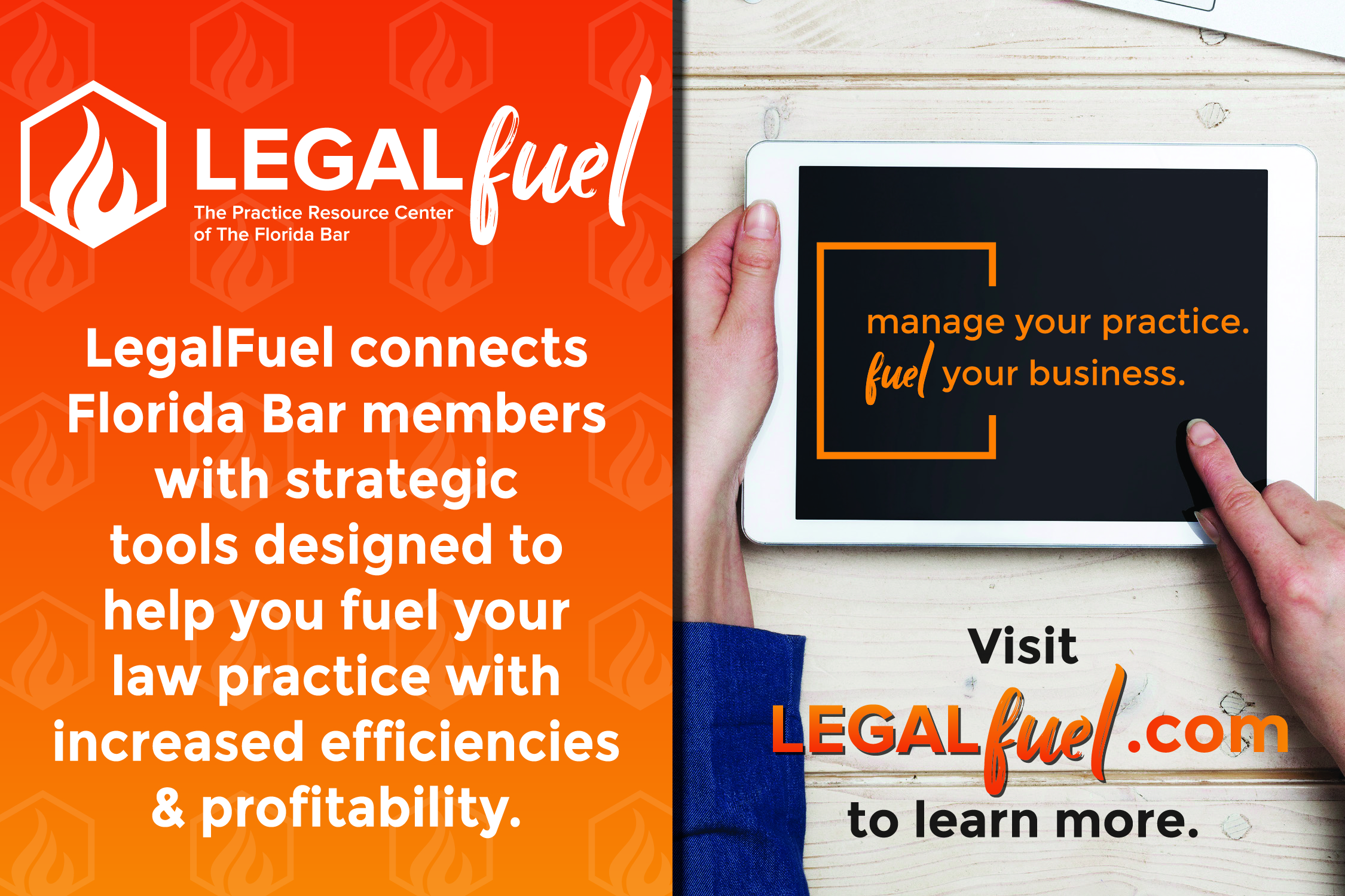 The New LegalFuel: The Practice Resource Center of The Florida Bar Is Launched