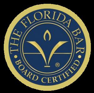 The Florida Bar Board Certified Seal