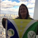 Cert. Flag NYC with McRae