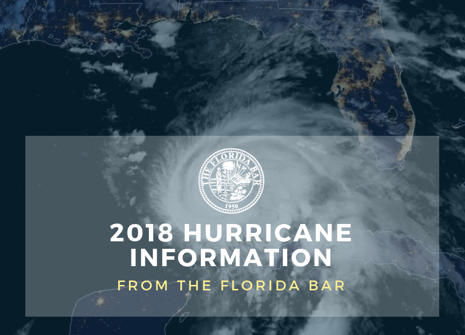 hurricane michael: resources and updates – the florida bar