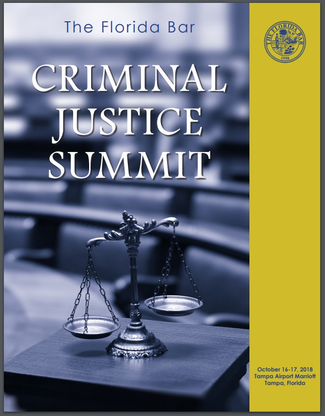 Criminal Justice Summit 2018 Program