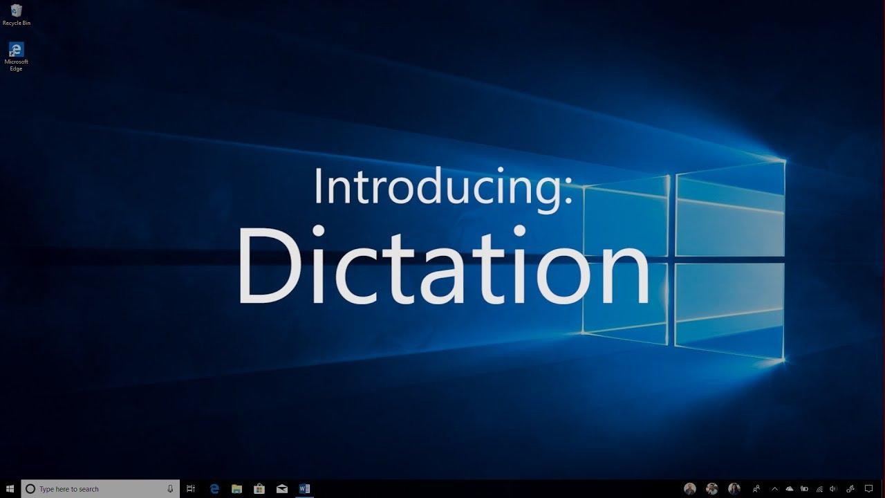 Tip: Introducing Dictation