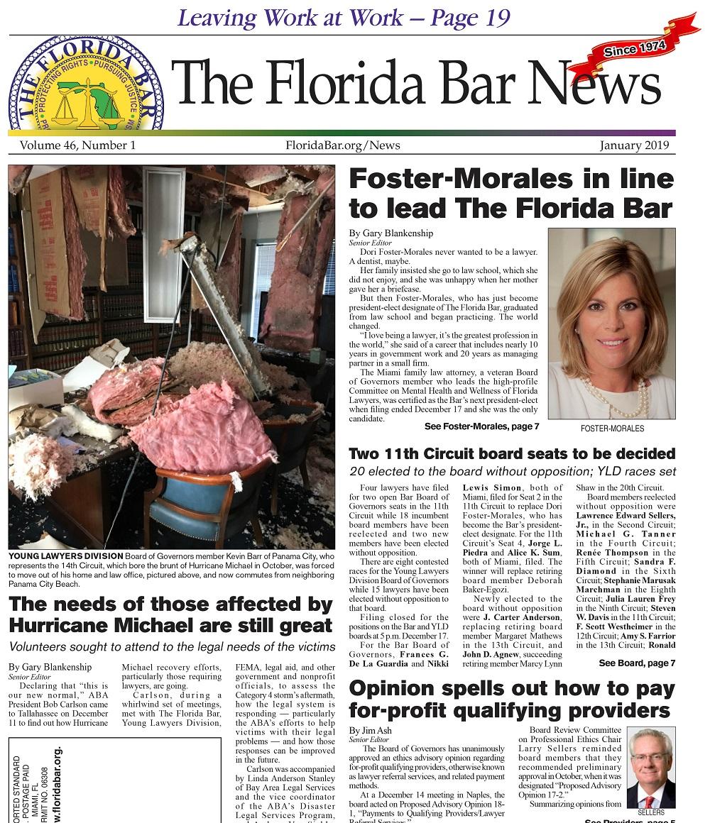 Jan 1 2019 Bar News