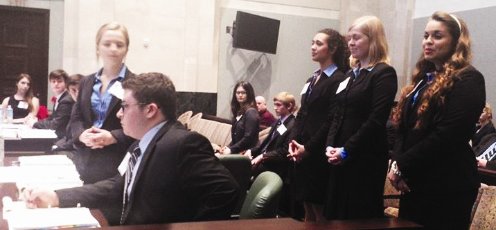 Fletcher High School Mock Trial Team