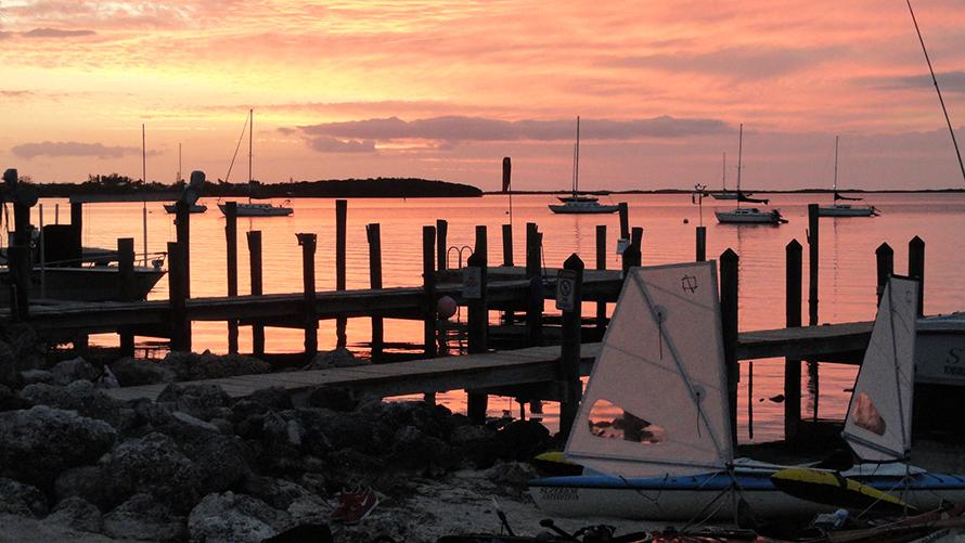 Sunset Cove in Key Largo