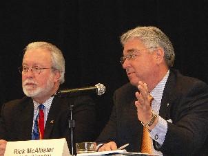 Barney Bishop and Rick McAAllister