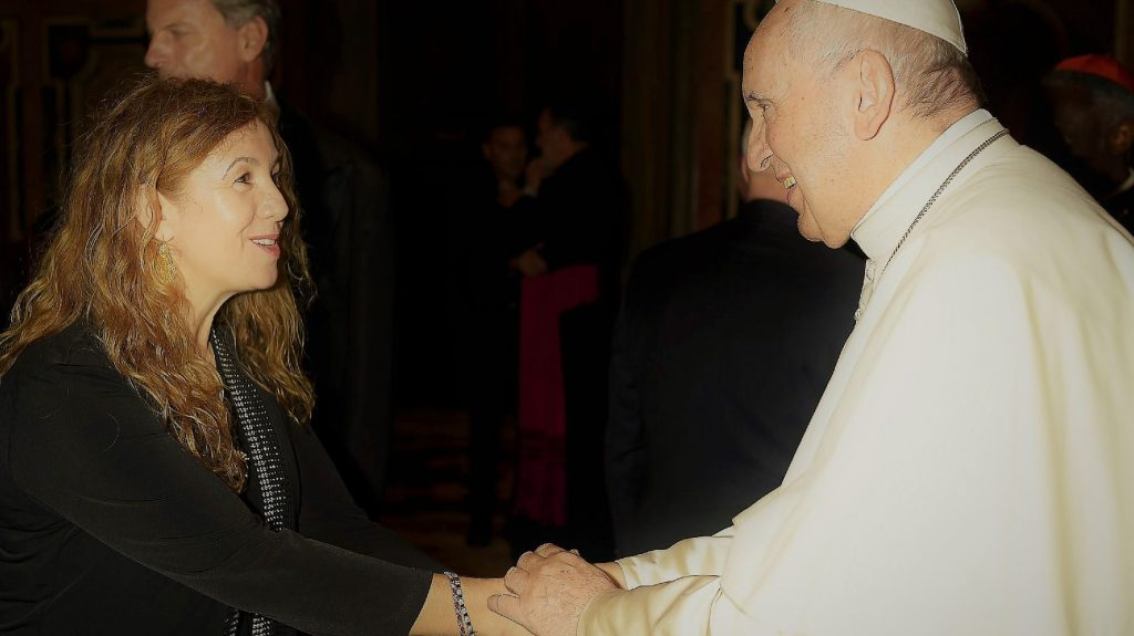 St. Thomas Professor Meets the Pope
