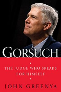 Image of Gorsuch book cover