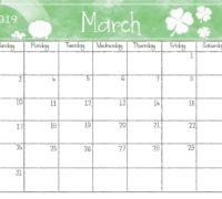 March - SB cal.