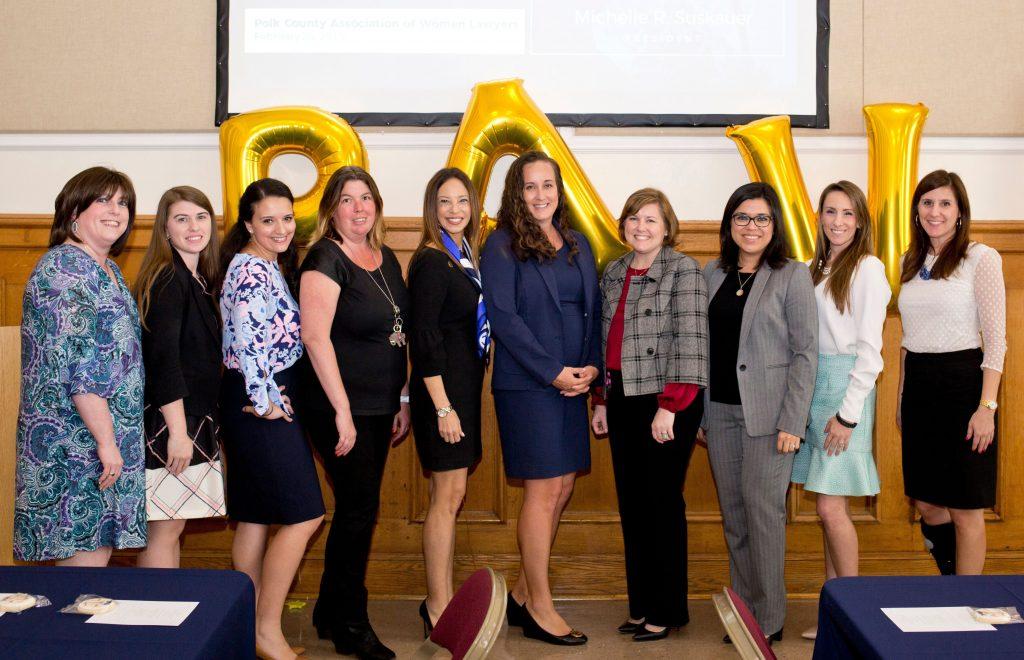 Polk County women lawyer celebrate Women's History Month