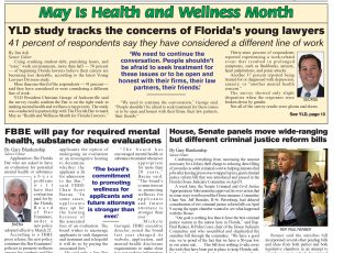 News Cover April 30 2019 Health and Wellness Month