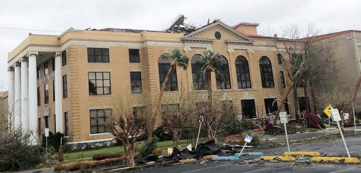 Panhandle courts still recovering from Hurricane Michael