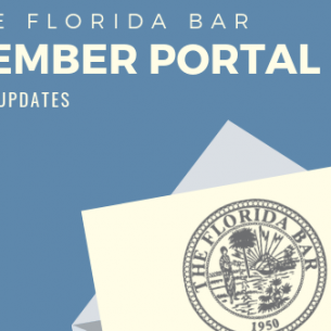Check it out! Some great new updates to the MyFloridaBar Member Portal!