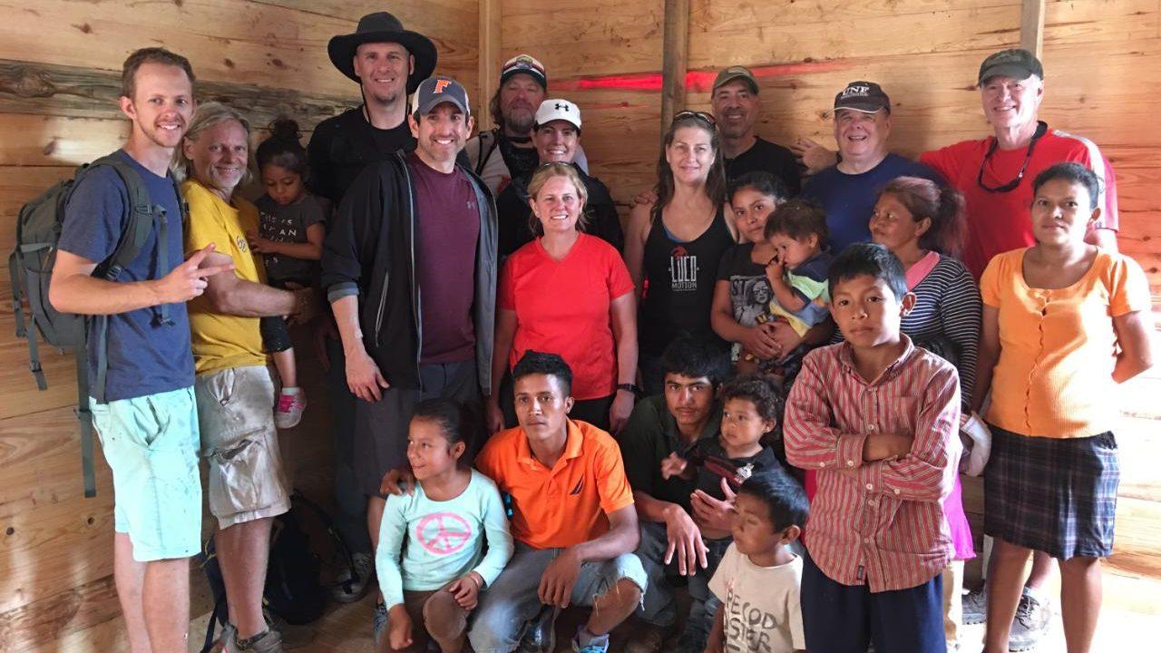 Florida volunteers in Honduras