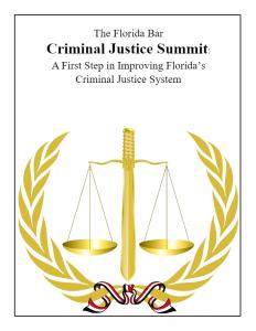 2018 Criminal Justice Summit Report