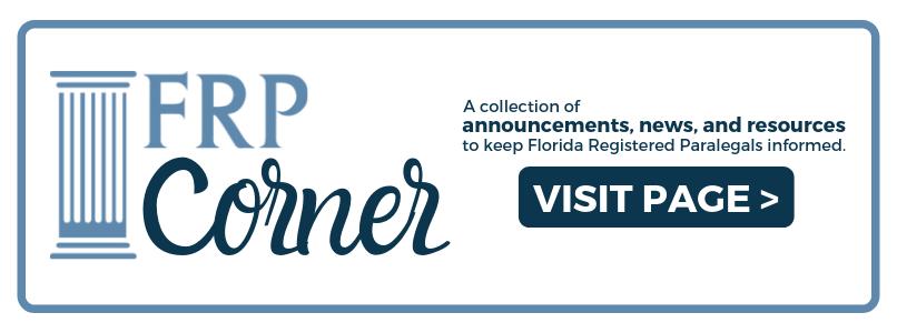 Florida Registered Paralegals – The Florida Bar