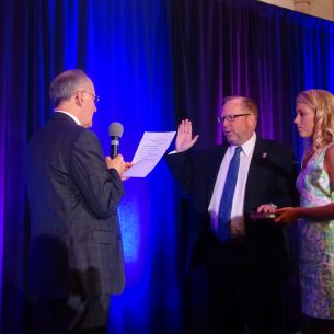 John M. Stewart sworn in as 2019-20 Florida Bar President