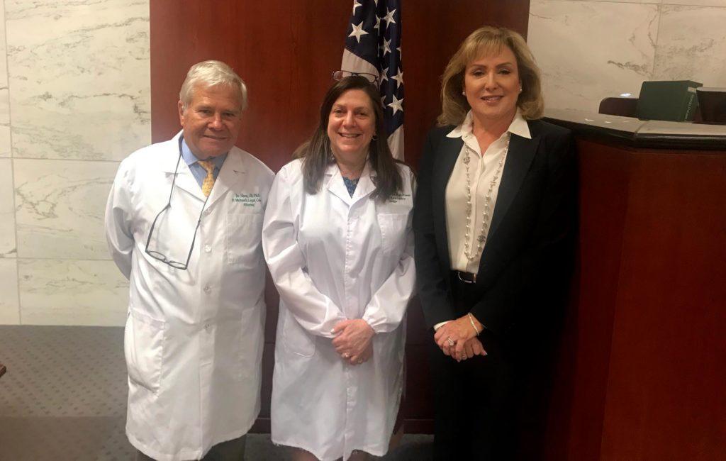 Judge McEwen recognized for facilitating pro bono