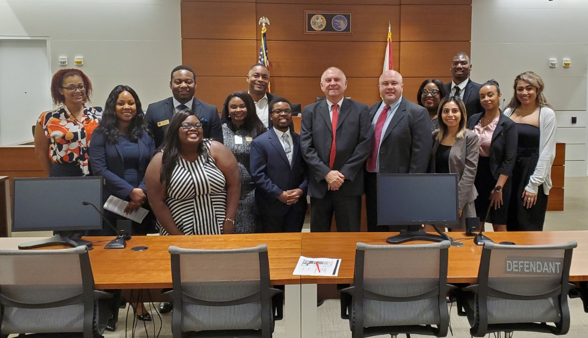 Day At The Broward County Courthouse