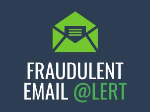 Fraudulent Email Alert – Nov. 5 2019