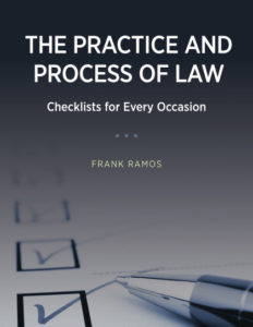 The Practice and Process of Law