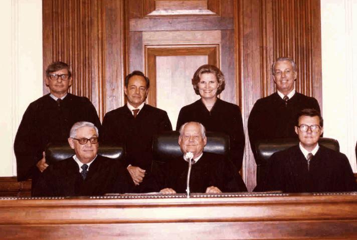 Judge Susan Harrell Black, at her 1979 investiture
