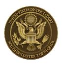 SOUTHERN DISTRICT OF FLORIDA logo