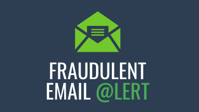 Scam Alert: Fake emails claim to be from the Bar's Executive Director