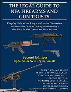 Firearms and gun trusts book