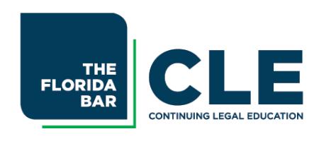 Florida Bar Continuing Legal Education logo