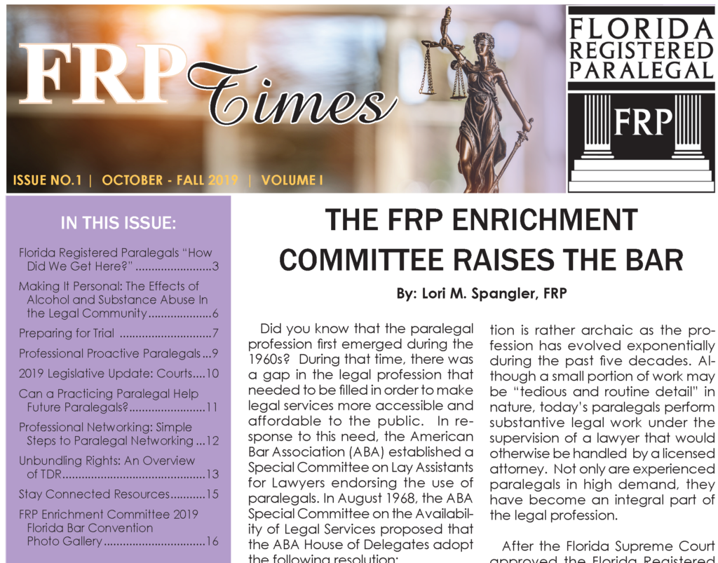 FRP Times, Issue 1