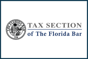 Tax Law Sectiuon of the Florida Bar