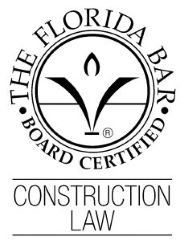 Construction law board certification logo