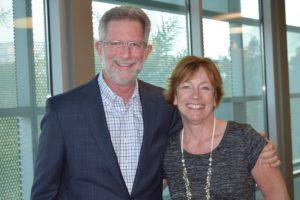 John Salmon and Christina Magee
