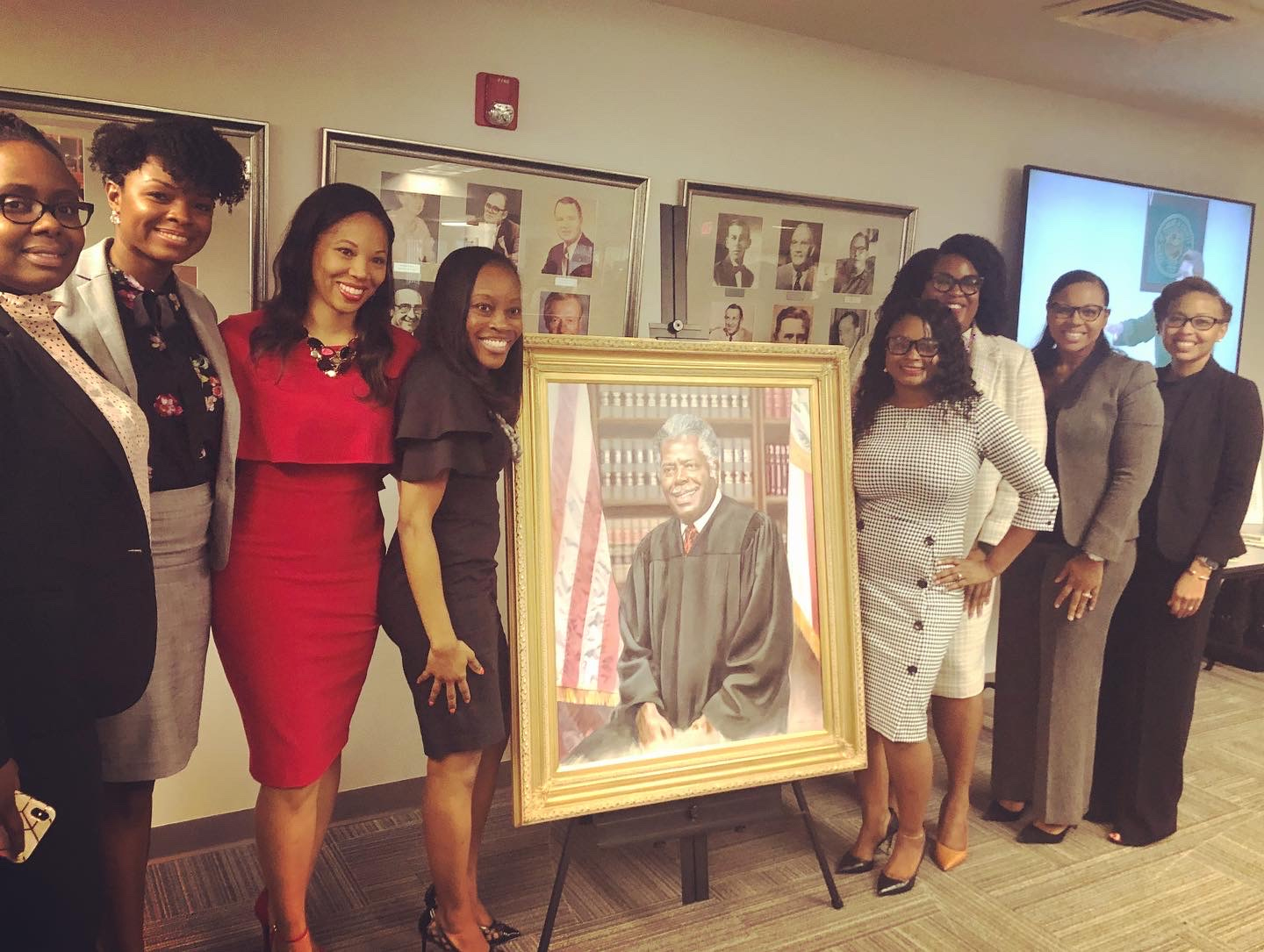 "Judge Thomas J. ""TJ"" Reddick, Jr., portrait unveiling"