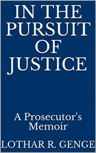 In the Pursuit of Justice book cover