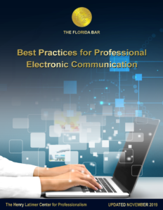 Best Practices for Professional Electronic Communication PDF cover