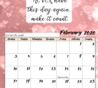 Speaking Out - Feb. calendar '20