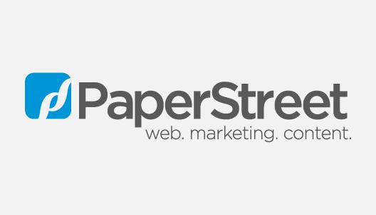 Paper Street Logo on Member Benefit banner